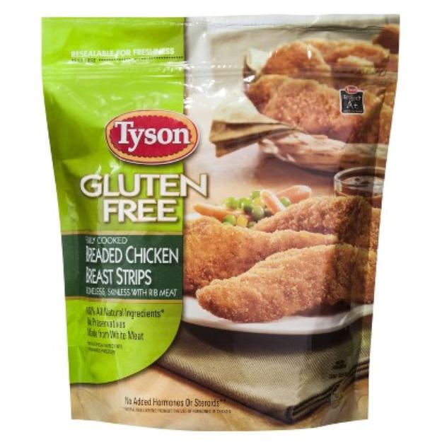 Tyson Gluten Free Breaded Chicken Strips 14 oz