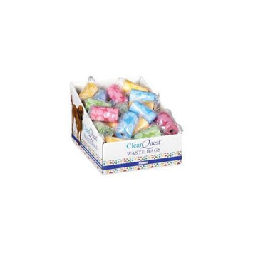 ClearQuest US0341 14 ClearQuest Flower Waste Bag Display Brights