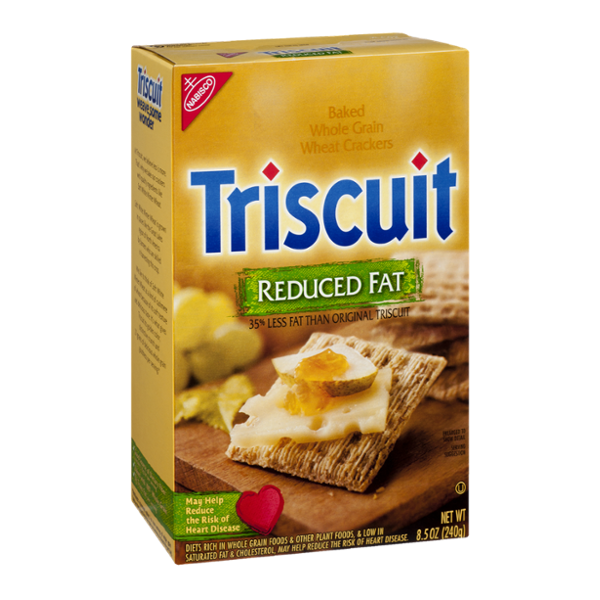Nabisco Triscuit Reduced Fat Baked Whole Grain Wheat Crackers