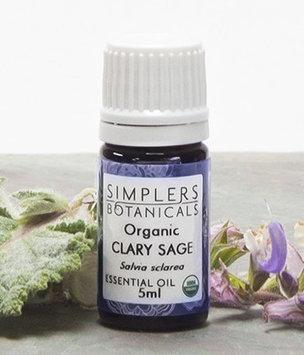 Simplers Botanicals - Organic Essential Oil Clary Sage - 5 ml.