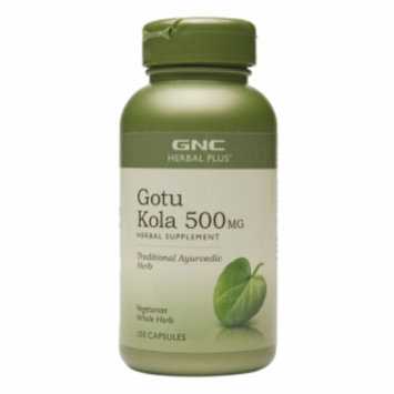 Gnc GNC Herbal Plus Gotu Kola 500mg, Capsules, 100 ea