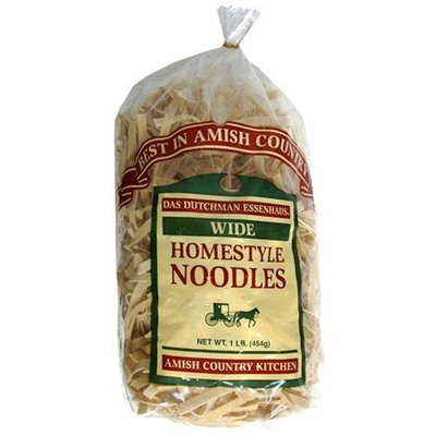 Essenhaus Amish Country Homemade Noodles, Wide, 16-Ounce Bags (Pack of 6)