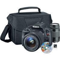 Canon 8575B003L2-5A-KIT Sl1 18-55mm - Xtra Lens[6473a003] Bag[9220a003] Soft 50941 8GB Sd Card
