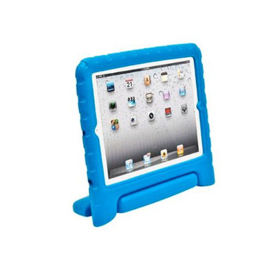 Monoprice Kidz Cover and Stand for iPad 1-4 - Blue