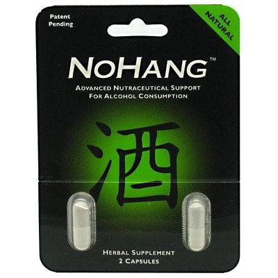 Natrient Nohang Capsules, 2-Count (Pack of 2)