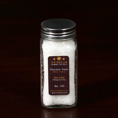 Gourmet Salt Company The Spice Lab Philippine White, (White Flake), Sea Salt, Philippines Sea
