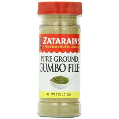 ZATARAIN'S Gumbo File Seasoning, 1.25-Ounce (Pack of 12)