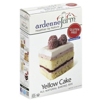 Ardenne Farm All Natural Gluten Free Baking Mix Yellow Cake 16 oz