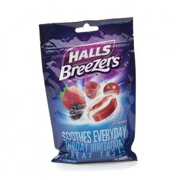 Halls  Breezers Cough Drops
