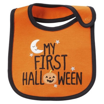 Just One You Made by Carter's Just One YouMade by Carter's Newborn My First Halloween Bib - Orange