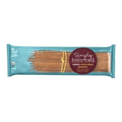 Simply Balanced Organic Whole Wheat Spaghetti Pasta 16 oz