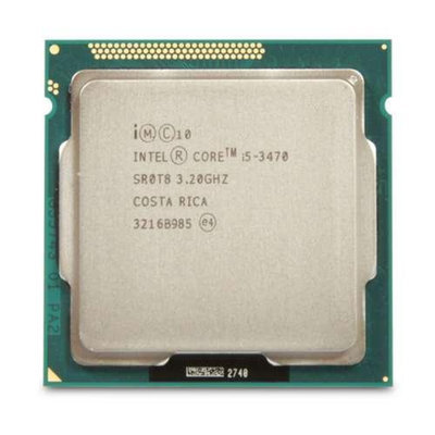 Intel Core BX80637I53470 i5-3470 Processor - Quad Core, 3.2GHz, 6M Cache, SSE4.1, Core i5, LGA 1155