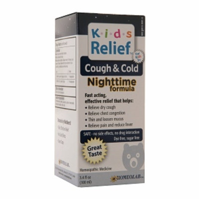 Homeolab USA Kids Relief Cough & Cold Nighttime