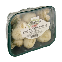 Nature's Promise Organics Whole White Mushrooms