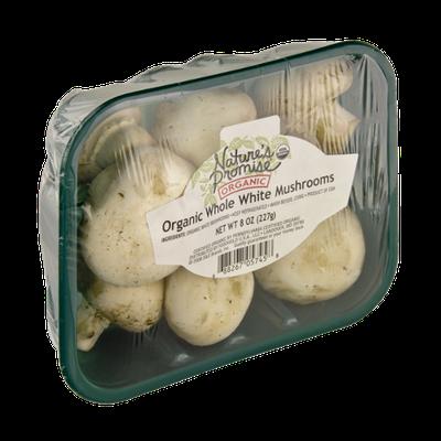Nature's Promise Organics Whole White Mushrooms