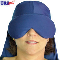 Herbal Concepts Sinus Pressure & Migraine Relief Cap w/ Flax Seeds & Wheat - Made In America