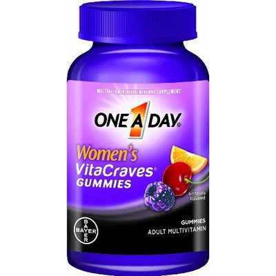 One a Day Women's Vitacraves Gummies, 100 Count