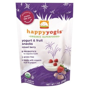Happy Melts Organic Yogurt Snacks for Babies & Toddlers
