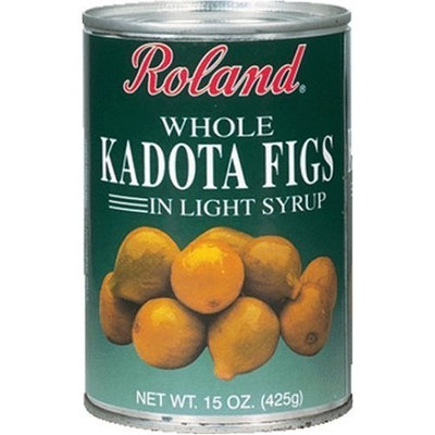 Roland Kadota Figs In Light Syrup, 15-Ounce Can (Pack of 6)