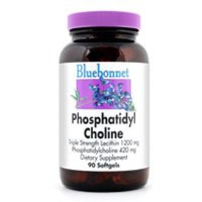 Bluebonnet Nutrition Phosphatidyl Choline, 180SG 420 Mg(Pack of 2)
