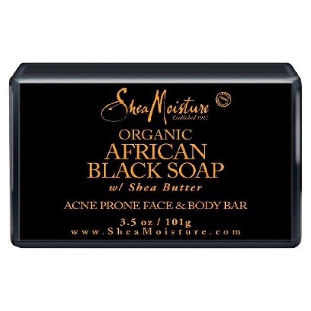 SheaMoisture African Black Soap Face & Body Bar - 3.5 oz