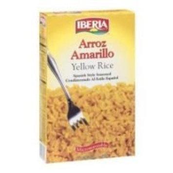 Iberia World Foods Rice, Seasoned Yellow, 10-Ounce (Pack of 12)