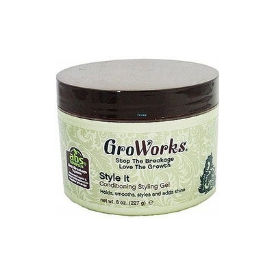 GroWorks Style It Conditioning Styling Gel 8oz