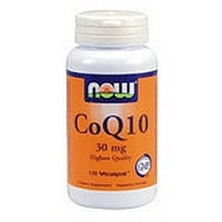 NOW FOODS CoQ10 30mg TWINS 2/60 VCAPS