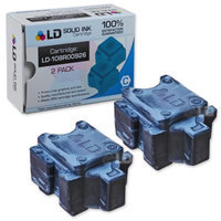 LD Compatible Replacements for Xerox 108R00926 (2 Pack) Cyan Solid Ink Sticks for use in Xerox ColorQube 8570DN, 8570DT, and 8570N Printers