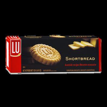 LU Shortbread Scottish Recipe European Biscuits