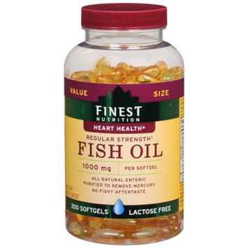 Finest Nutrition Fish Oil 1000mg, Softgels