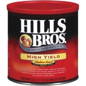 Hills Brothers Hills Bros. Coffee Ground High Yield, 34.5000-Ounce Packages (Pack of 6)