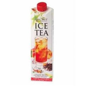 Favorit Iced Tea with Peach Juice (6x33.8 OZ)