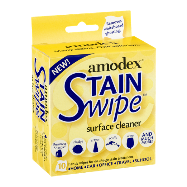 Amodex Stain Swipe Surface Cleaner - 10 CT