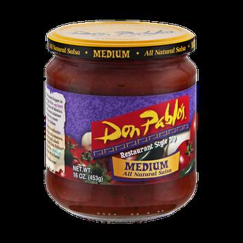 Don Pablo's All Natural Medium Salsa Restaurant Style Dip