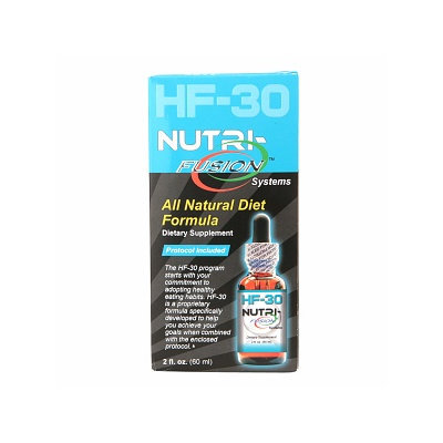 Nutri-Fusion Systems HF-30 All Natural Diet Formula