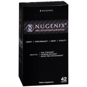 Nugenix Natural Testosterone Booster, Capsules, 42 ea