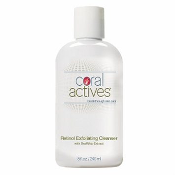Coral Actives Retinol Exfoliating Cleanser with SeaWhip Extract