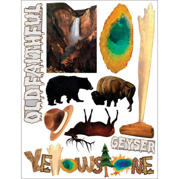 Outdoors & More 121752 Themed Die Cut Assortment-Yellowstone