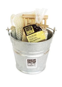 Joyful Bath Co Soap Gift Set, Relieving Eucalyptus Mix - Mellow Yellow, 1 set