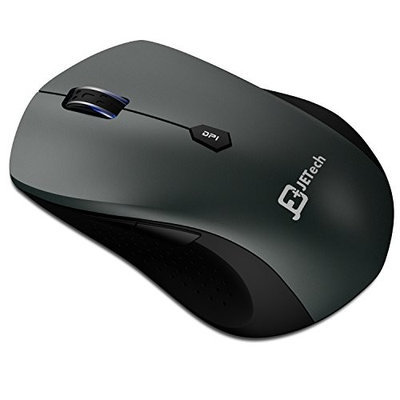 JETech 2.4Ghz Wireless Mobile Optical Mouse with USB Nano Receiver 12-Month Battery Life