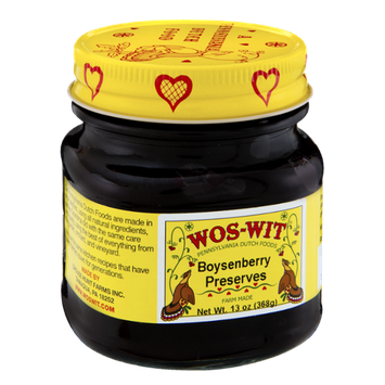 Wos-Wit Boysenberry Preserves