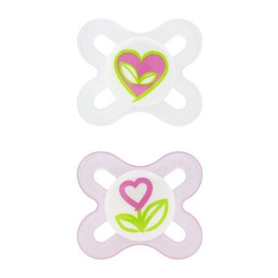 Sassy MAM Start Silicone Orthodontic Pacifier 2 ea