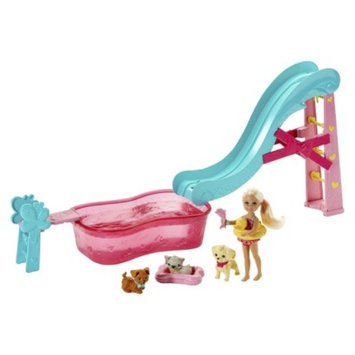 Barbie Flippin Pup Pool Chelsea Doll and Pet Playset