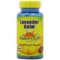 Nature's Life Lavender Calm Veg Capsules, 90 Count