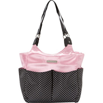 Smart Mommy Bags Pretty In Pink Diaper Bag Pink and Black - Smart Mommy Bags Diaper Bags