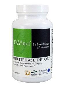 Davinci Labs - Multiphase Detox - 90 Capsules
