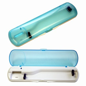 iTouchless Germicidal Travel UV Toothbrush Sanitizer/Case