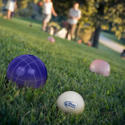 Trademark Anheuser-Busch Beverage-themed Regulation-size Bocce Ball Set
