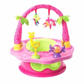 Summer Infant Deluxe Superseat Island Giggles, Pink Happiness, 1 ea